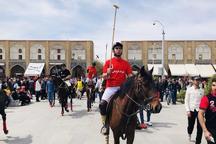 مسابقات چوگان در اصفهان آغاز شد