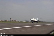 مسدودشدن باند فرودگاه مشهد شایعه است