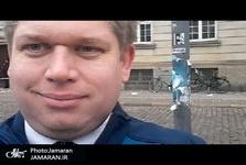 رهبر یک حزب افراطی دانمارک در اقدامی اسلام ستیزانه قرآن را آتش زد+ تصاویر