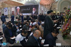 جلسه ستاد دهه فجر انقلاب اسلامی استان تهران در حرم مطهر امام