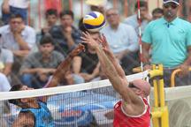 میزبانی گلستان از مسابقات والیبال ساحلی کارگران