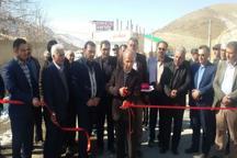 9 پروژه عمرانی و خدماتی بخش رودهن افتتاح شد