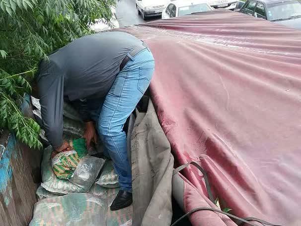 15 تن برنج خارجی قاچاق در شرق استان تهران کشف شد