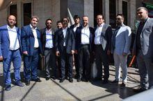 فعالان اقتصادی «ارزروم» ترکیه وارد ماکو شدند