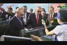 پوتین پول بستنی اردوغان را حساب کرد
