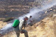سه هکتار از اراضی ملی قزوین در آتش سوخت