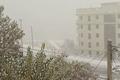 بارش شدید برف در سعادت آباد-بزرگراه یادگار امام