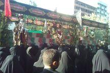 آئین تشییع پیکر مطهر135 شهید از دانشگاه تهران آغاز شد
