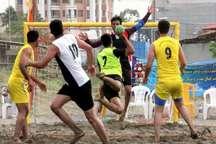 هندبال ساحلی کشور  چهار تیم به مرحله نیمه نهایی راه یافتند