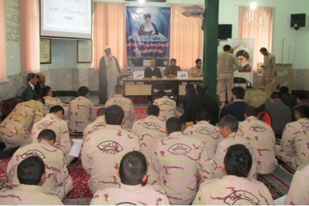 54 نفر از پرسنل هنگ مرزی اترک گلستان حافظ قرآن شدند