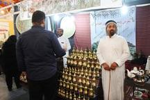 نمایشگاه صنایع دستی،سوغات و هدایا در قزوین گشایش یافت