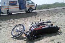تصادف در جاده کهنوج یک کشته بر جا گذاشت