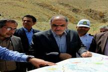 بازدید معاون وزیر راه و شهرسازی از طرح های حوزه راه جنوب کرمان