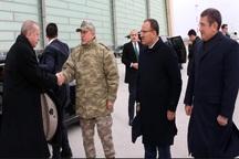 اردوغان لباس رزم به تن کرد+ تصاویر