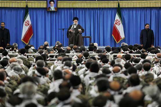 بسیجیان با رهبر معظم انقلاب اسلامی دیدار می کنند