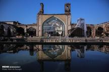 تصاویری از مسجد جامع ساری پس از آتش سوزی