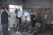 کارگاه گونی بافی جاده ورامین در آتش سوخت