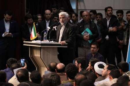 جلیلی: انتخابات فرصتی برای تعیین سرنوشت کشور توسط مردم است