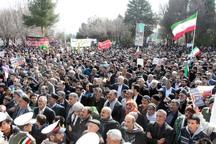 راهپیمایی 22 بهمن در بروجرد با شکوه خاصی برگزار شد