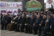 یادواره ۲۵ شهید آبروی محله بهار در اهر برگزار شد