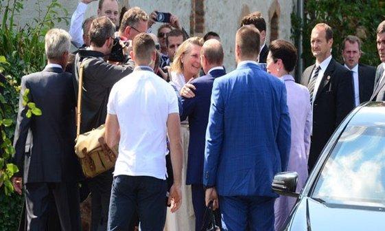 پوتین در جشن ازدواج وزیر خارجه اتریش+ تصاویر