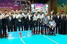 اختتامیه مسابقات جهانی والیبال نشسته در تبریز برگزار شد