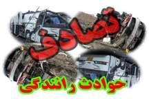 حوادث جاده ای در فارس 2 کشته و چهار مجروح در پی داشت