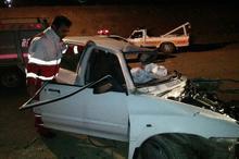 تصادف رانندگی در چهارمحال و بختیاری 2 کشته برجای گذاشت