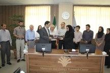 پژوهشگاه مواد و انرژی و شورای شهر کرج تفاهمنامه امضا کردند