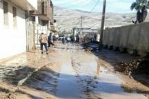 هویزه ثانی را دریابید  شهری مدفون در زیر گل  امدادرسانی مردم رومشگان به سیلزدگان از طریق کوهستان