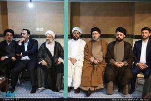 مراسم جشن نیمه شعبان در حسینیه جماران-2