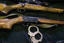 ۱۲ قبضه اسلحه شکاری غیرمجاز در مهاباد کشف شد