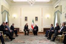 رئیسجمهور روحانی: همکاری نزدیک ایران و روسیه بایستی تا رسیدن به امنیت کامل در سوریه و منطقه ادامه یابد