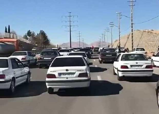 شهر صدرا بدون سامانه حمل و نقل؛ ترافیکش سهم  شیراز