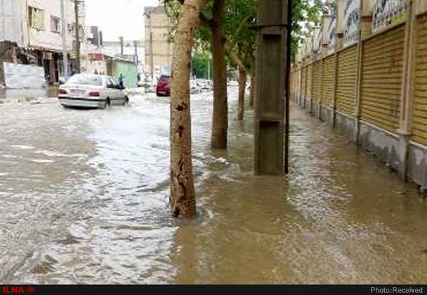 تشییع و خاکسپاری پیکر ۵ جانباخته سیل شیراز