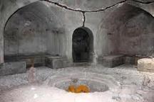 آغاز مرمت حمام تاریخی 500 ساله سرایان