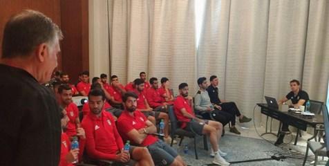 برگزاری جلسه آنالیز تیم ملی فوتبال ایران