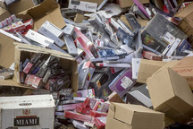 محموله 6 هزاربسته ای تنباکوی خارجی قاچاق در دلیجان توقیف شد