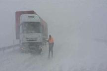 تردد تریلر در محور بجنورد - اسفراین  ممنوع شد