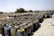 1800 لیتر سوخت قاچاق در شهرستان ماکو کشف شد