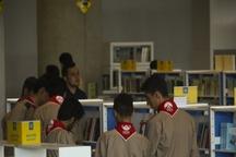 اردوهای دانش آموزان پیشتاز در باغ کتاب تهران برگزار می شود