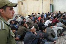 ۹۰۹ تبعه خارجی غیرمجاز  ساوه بازگشت داده شدند
