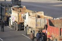 کامیون داران اصفهان خواستار حل مشکلات صنفی خود شدند