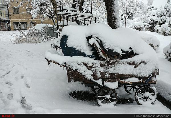 بارش برف و باران در قزوین از عصر جمعه