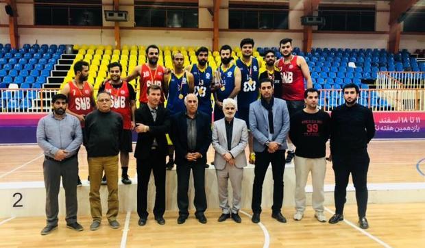 برترین های رقابت های بسکتبال و تنیس روی میز بوشهر معرفی شدند
