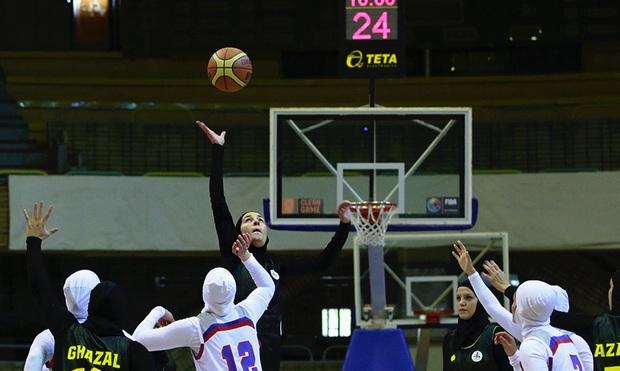 نهاوند میزبان لیگ بسکتبال بانوان کشور شد