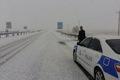 تیم های پلیس راه در گردنه های حادثه خیر همدان مستقر شدند