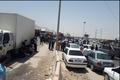 مردم وحدتیه دشتستان در اعتراض به مشکل آب راه اصلی بوشهر - شیراز را بستند
