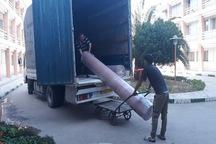 چهارمین محموله شهرستان قدس به مناطق سیل زده خوزستان ارسال شد