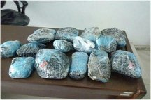 24 کیلوگرم مواد مخدر در شیروان کشف شد